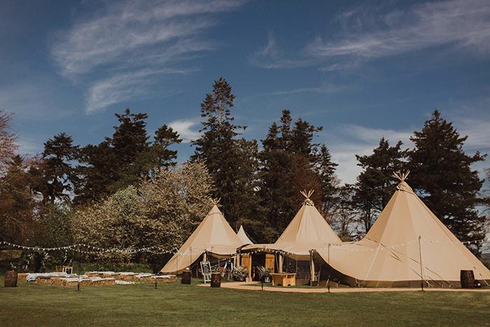 Hartree Estates wedding