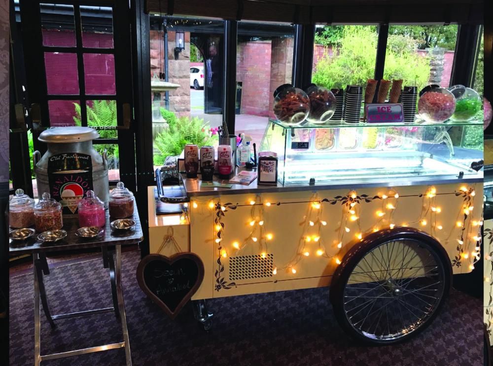 ice cream truck wedding hire Scotland