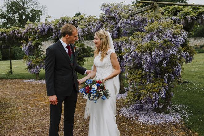 Featured Image for Colourful + elegant Scottish castle wedding at Winton Castle, East Lothian