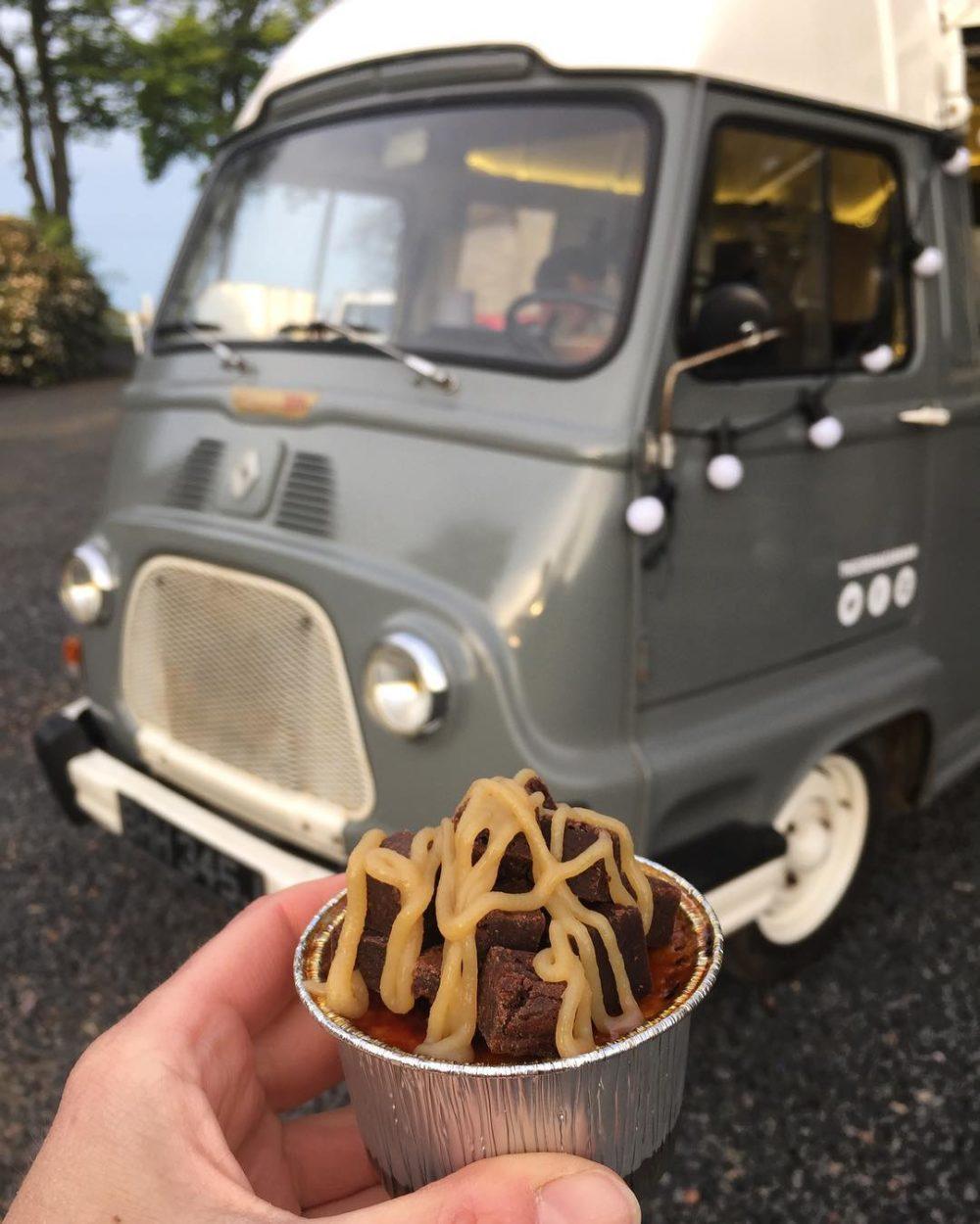 Creme Brulee mobile van Scotland