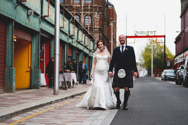Featured Image for Beautiful wedding day at the heart of Glasgow's East End in Saint Luke's
