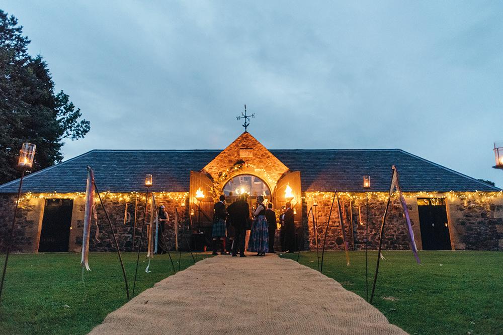 byre of inchyra review wedding venue