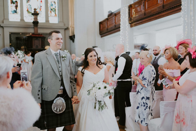 Featured Image for Grey + gold stylish wedding at St Andrews in the Square, Glasgow