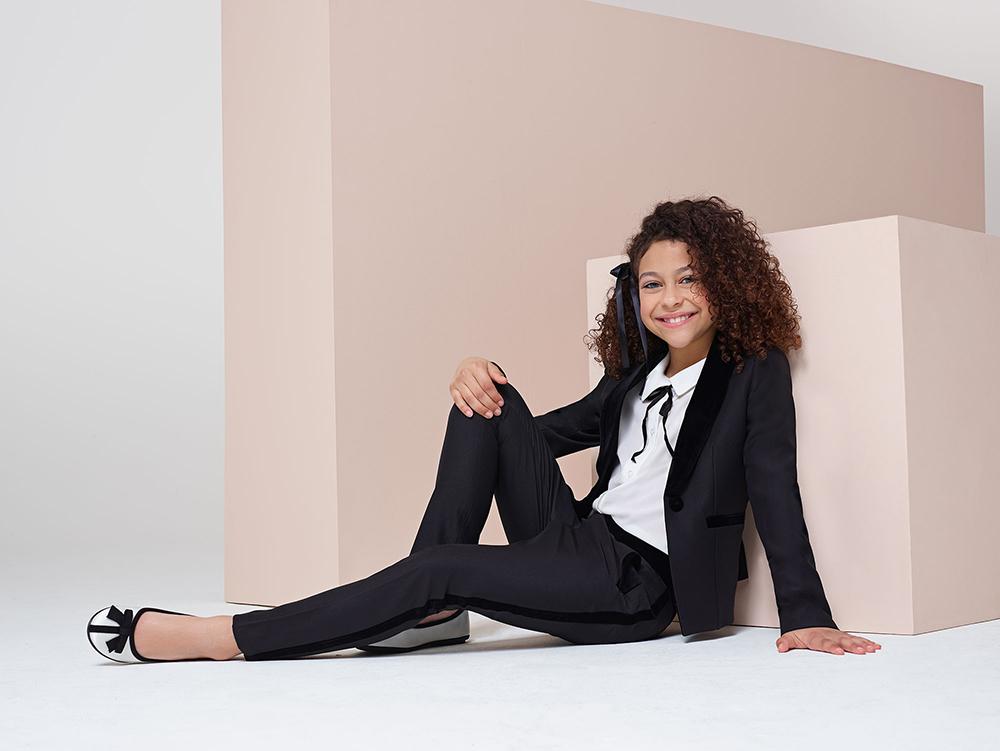 girls Lennox Tuxedo suit - Roco Clothing