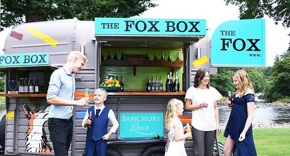 the fox box - Banchory Lodge