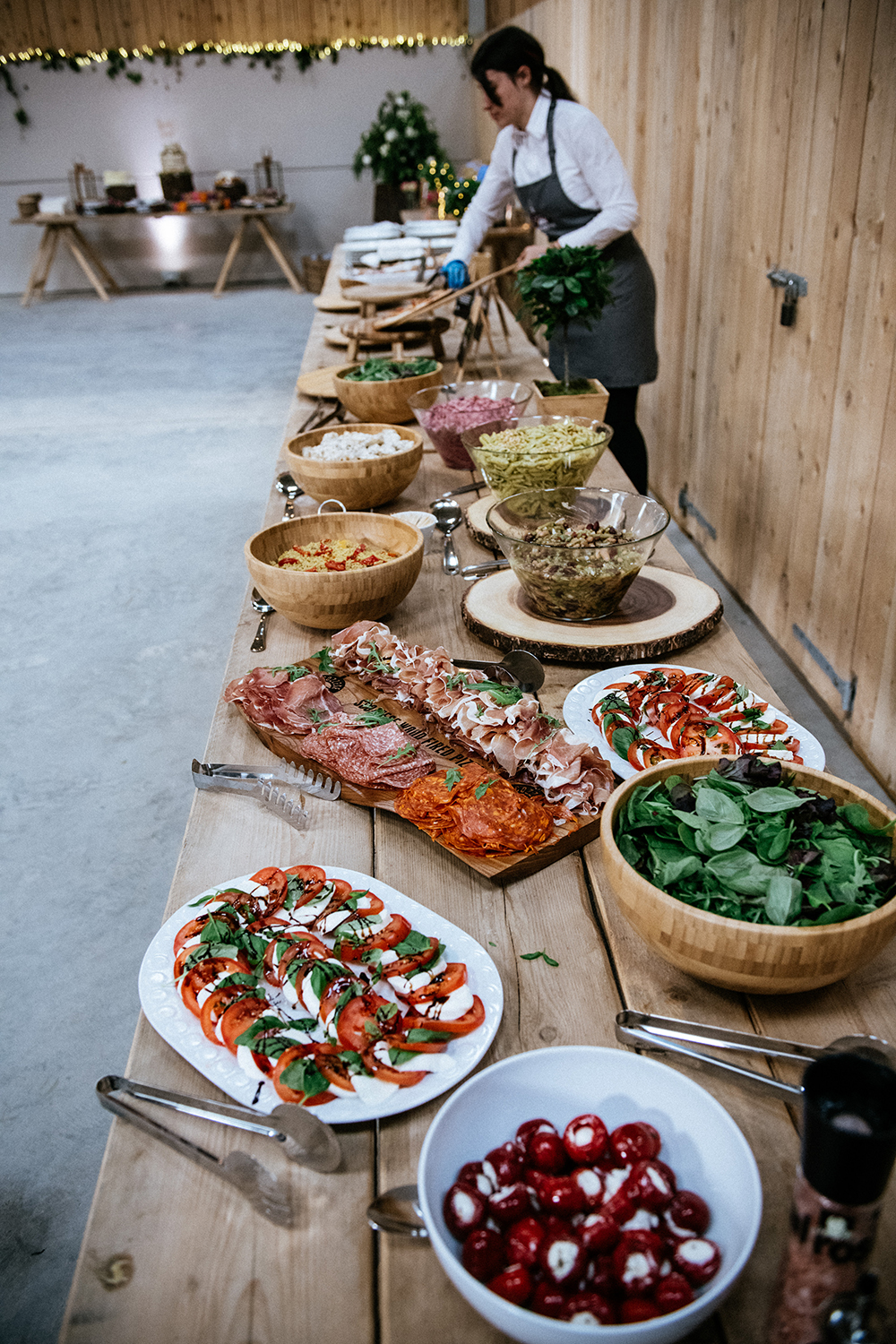 food - The Lodge at Carrick Castle Estate wedding