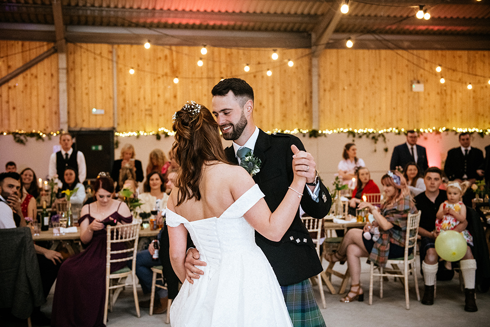 dancing - The Lodge at Carrick Castle Estate wedding