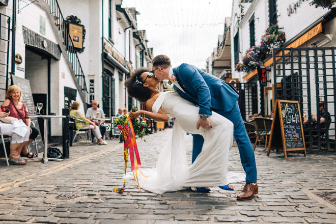 Featured Image for Disco-inspired colourful wedding at Cottiers, Glasgow