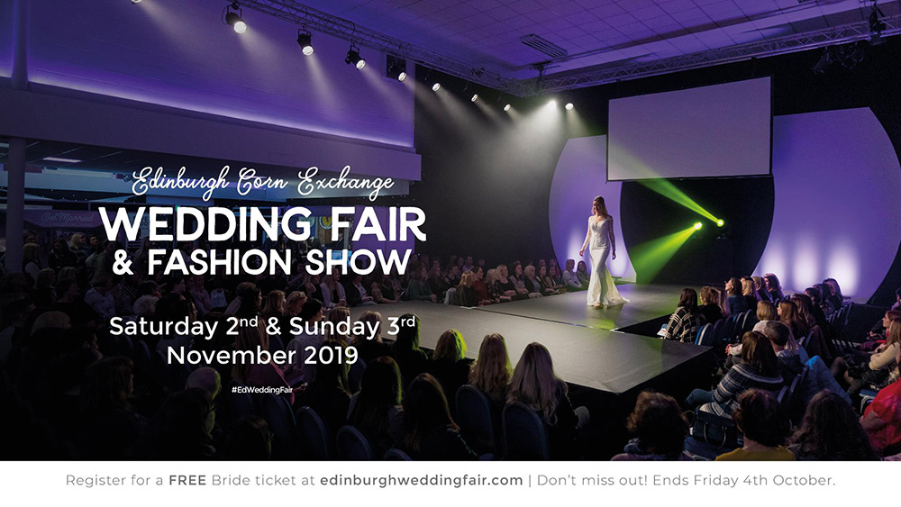 Featured Image for Edinburgh Corn Exchange Wedding Fair & Fashion Show