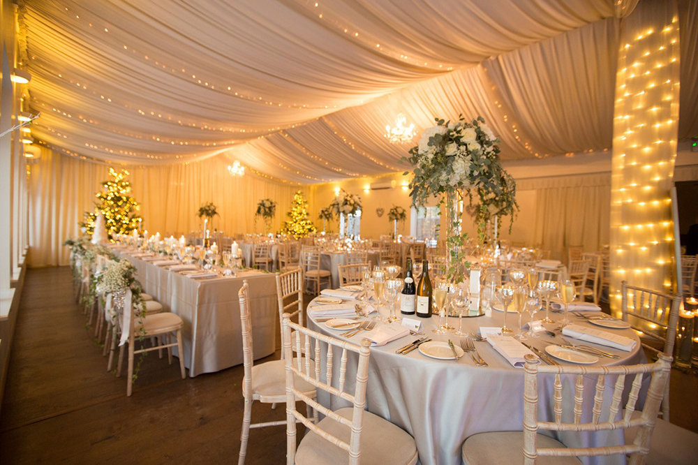 marquee- Logie Country House