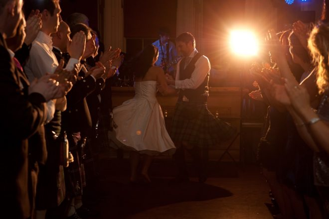 Featured Image for Stress-free wedding entertainment with Sporran Again