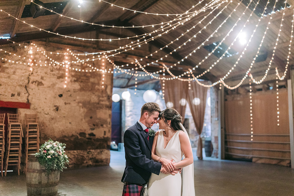 Featured Image for Twinkling lights + rustic charm at Kinkell Byre, St Andrews