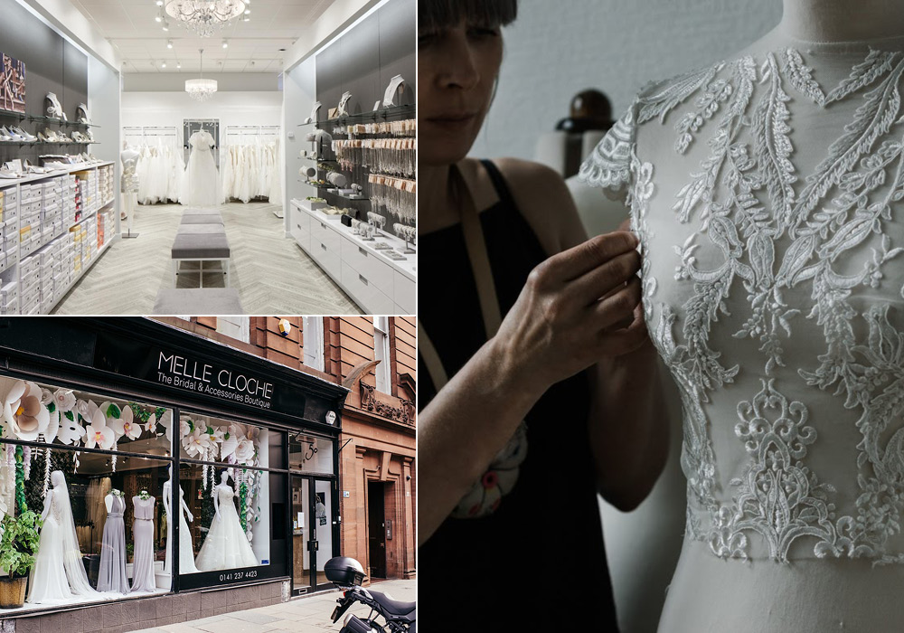 best wedding dress shops in Glasgow