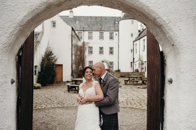 Featured Image for Wood and ivy inspired wedding day at Logie Country House, Inverurie