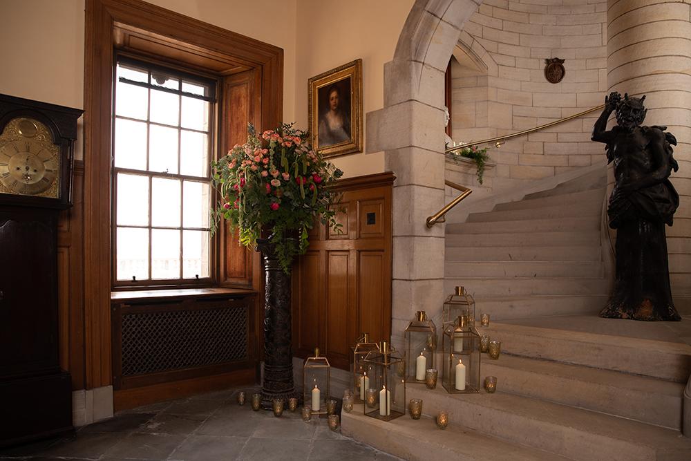 Barnbougle Castle Wedding Venue staircase