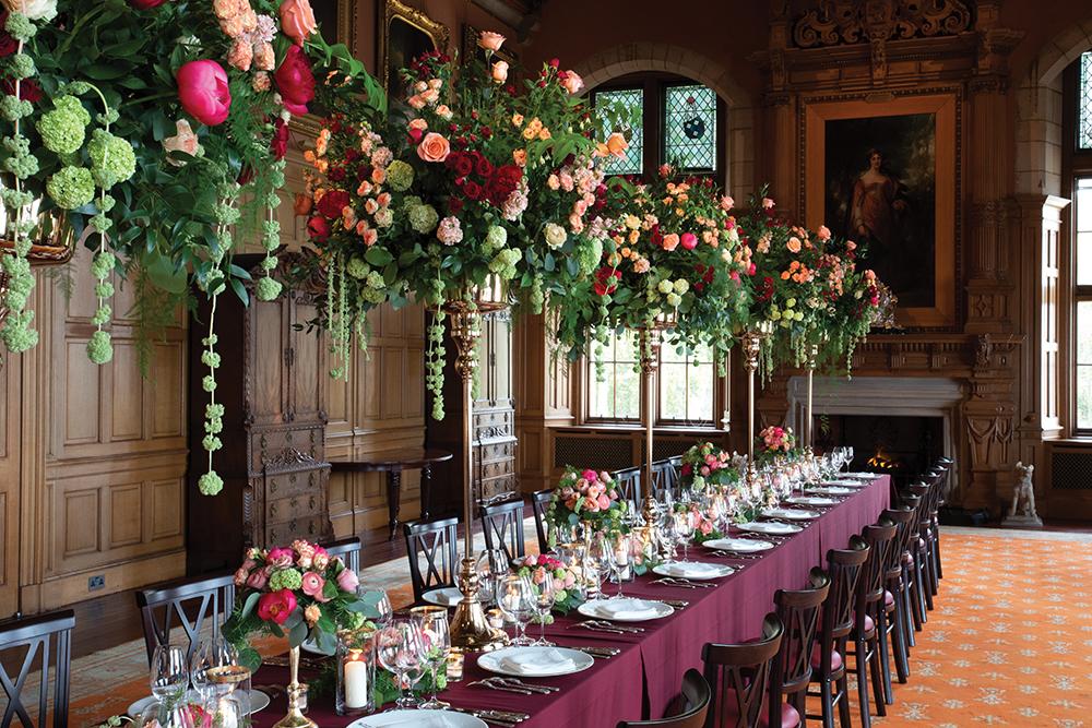 Barnbougle Castle Wedding Venue banqueting hall