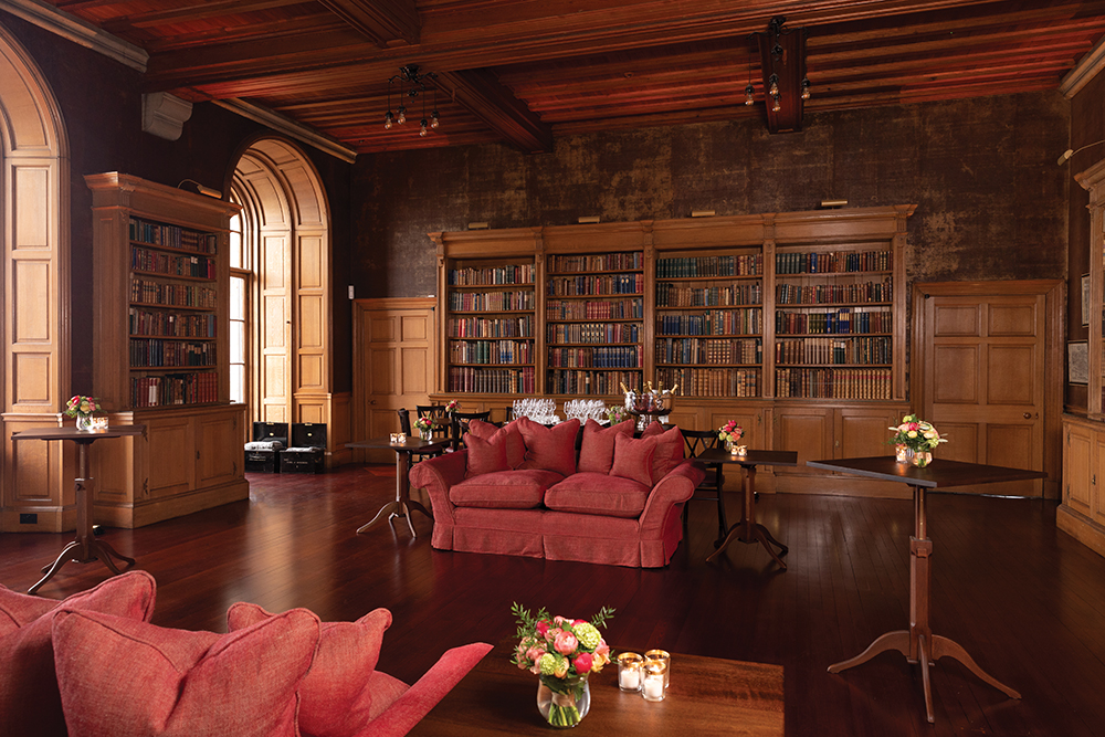 Baenbougle Castle Wedding Venue Library