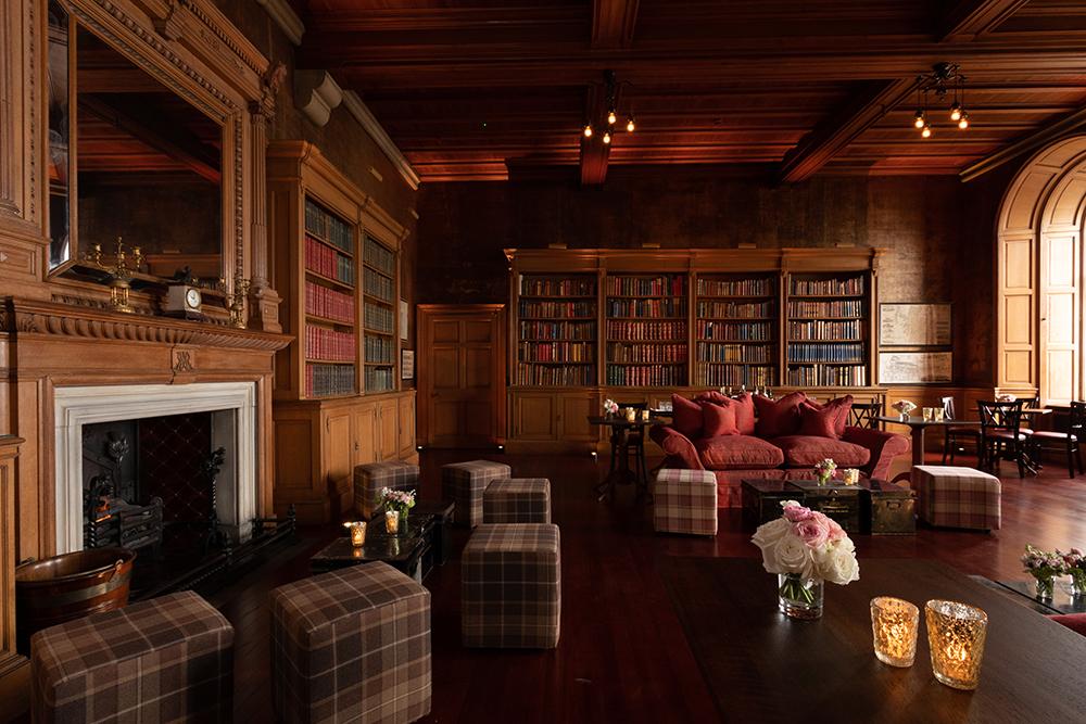 Barnbougle Castle Wedding Venue Library