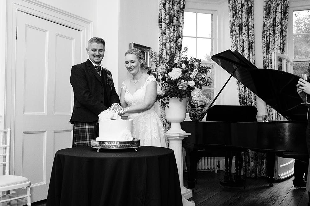 reception - Fern Photography wedding at Gilmerton House