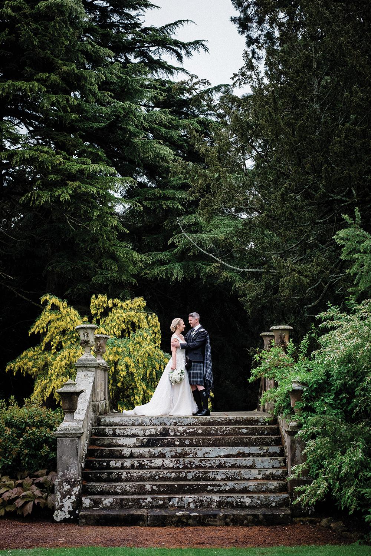 ceremony - Fern Photography wedding at Gilmerton House