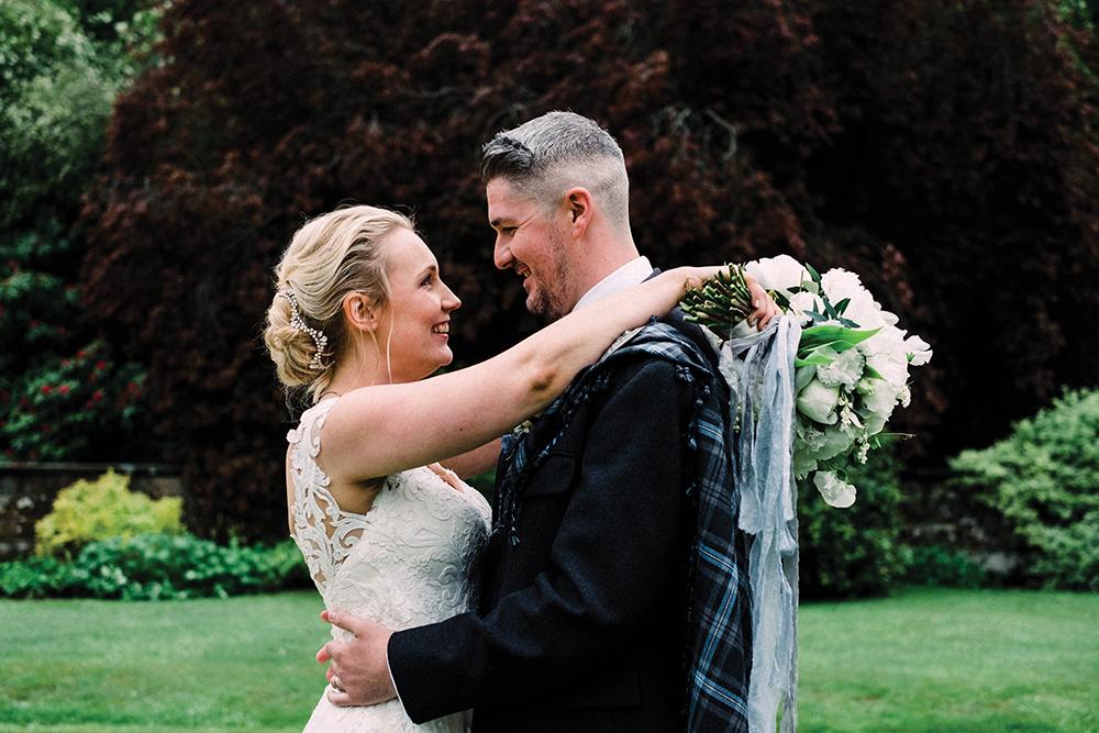 couple shoot - Fern Photography wedding at Gilmerton Castle