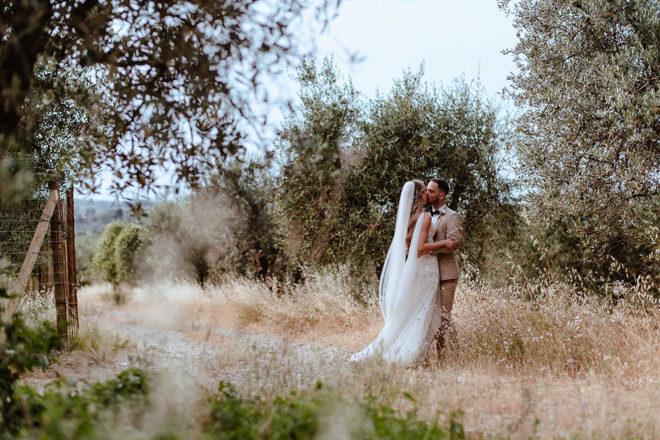 Featured Image for Stylish Italian castle wedding at Castello Il Palagio, Chianti
