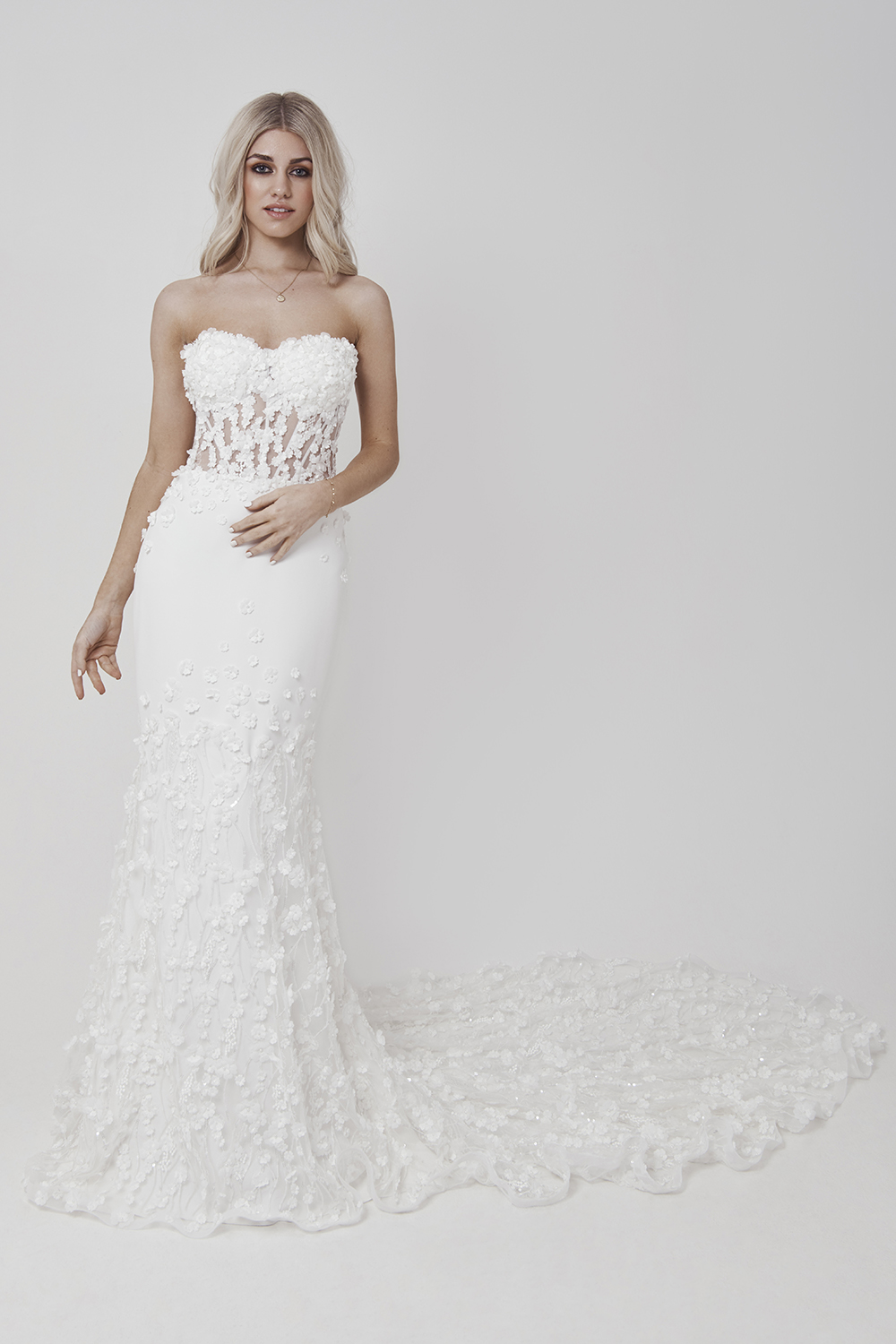 made-to-measure 'Celine' dress by Mirka Bridal Collection