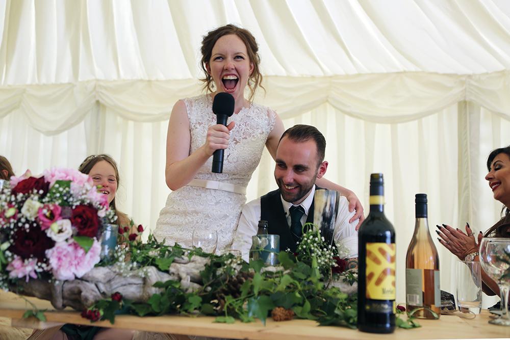 bride speech - Gail Photography