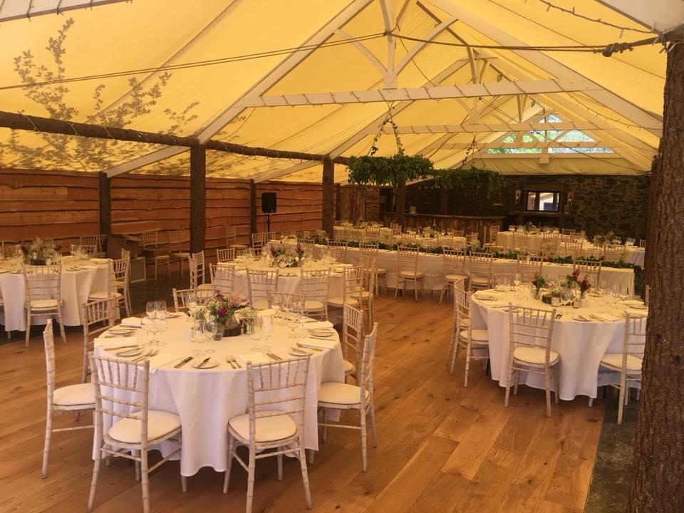 Myres castle wedding