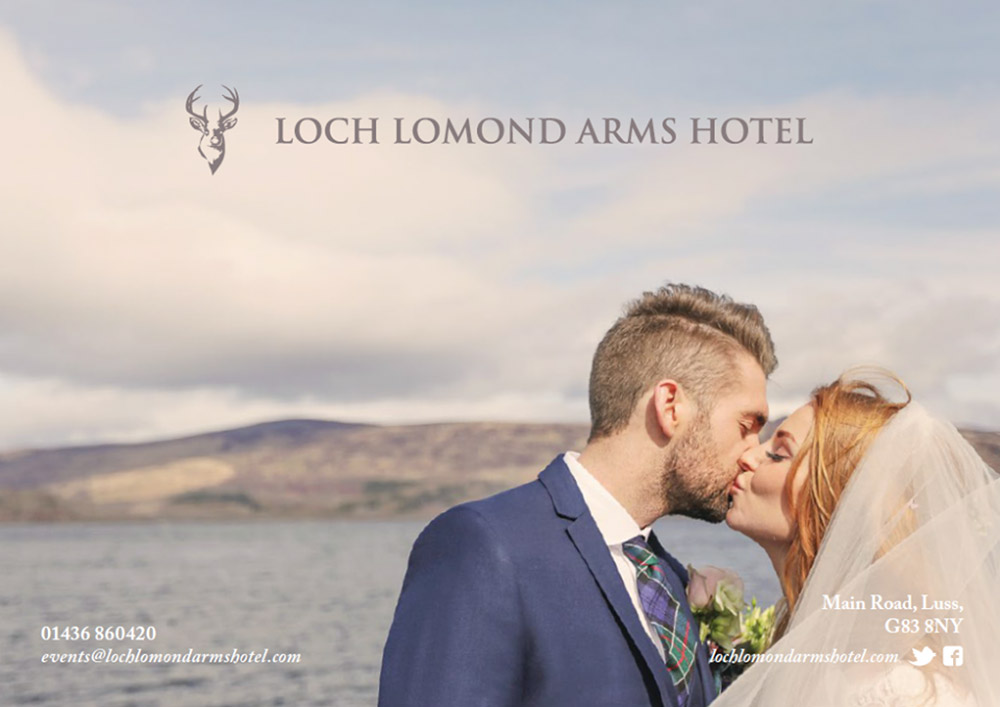 Featured Image for Loch Lomond Arms Hotel Wedding Showcase