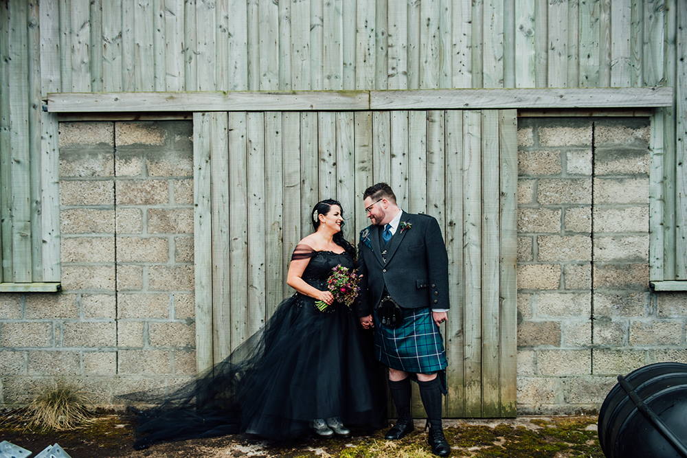 "Featured Image for ""I wore a custom-made black plus-size wedding gown!"""