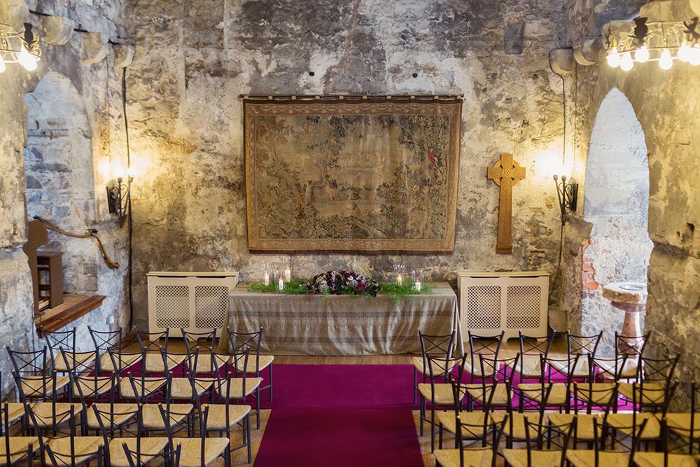 Craig and Eva Sanders Real Wedding Dundas Castle Auld Keep