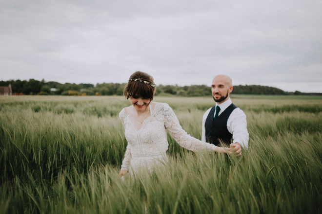Featured Image for Dog-friendly wedding with Romanian roots at The Rhynd, St Andrews