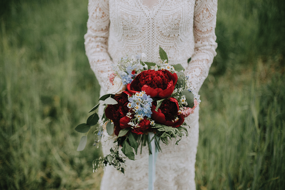 flowers - In the Name of Love Photography wedding at The Rhynd