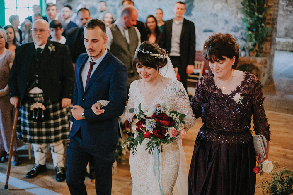 ceremony - In the Name of Love Photography wedding at The Rhynd