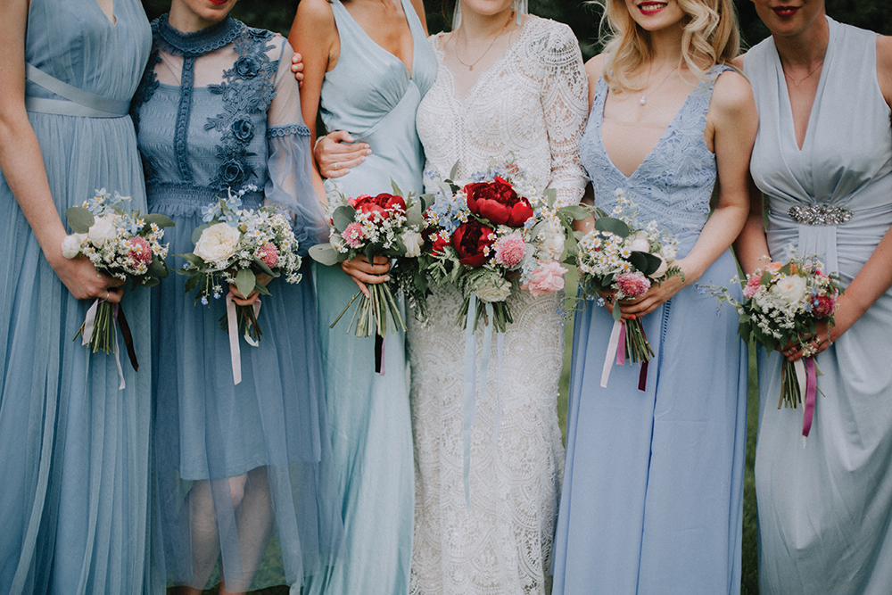 bridesmaids - In the Name of Love Photography wedding at The Rhynd
