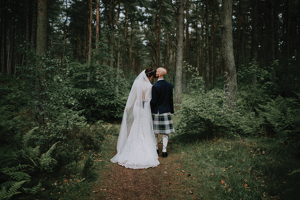 couple shoot - In the Name of Love Photography wedding at The Rhynd