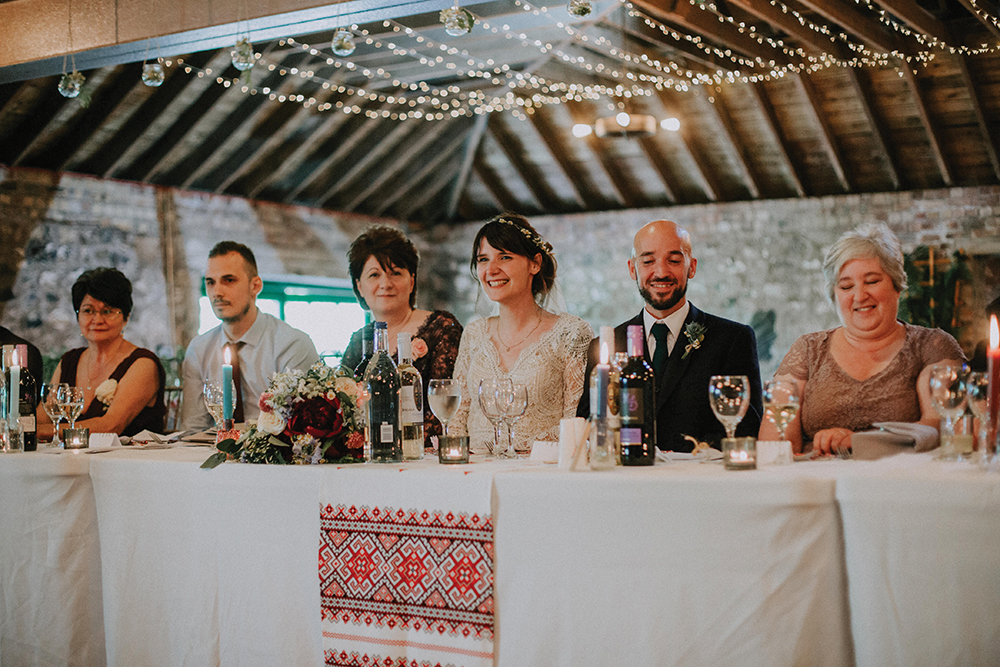 speeches - In the Name of Love Photography wedding at The Rhynd