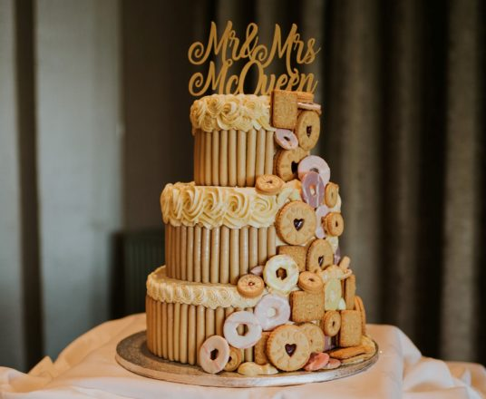 Featured Image for How to make a statement with your wedding cake