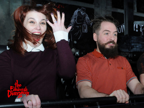 Featured Image for Bride sentenced to life... of marriage with Edinburgh Dungeon proposal