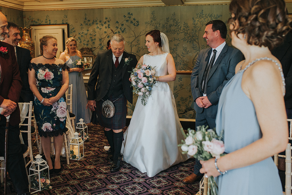 ceremony - Iris Art Photography at Prestonfield House wedding