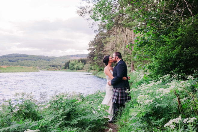 Featured Image for Rustic-style wedding at Ballogie House, Aberdeenshire