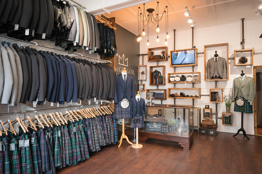 MacGregor and MacDuff shop