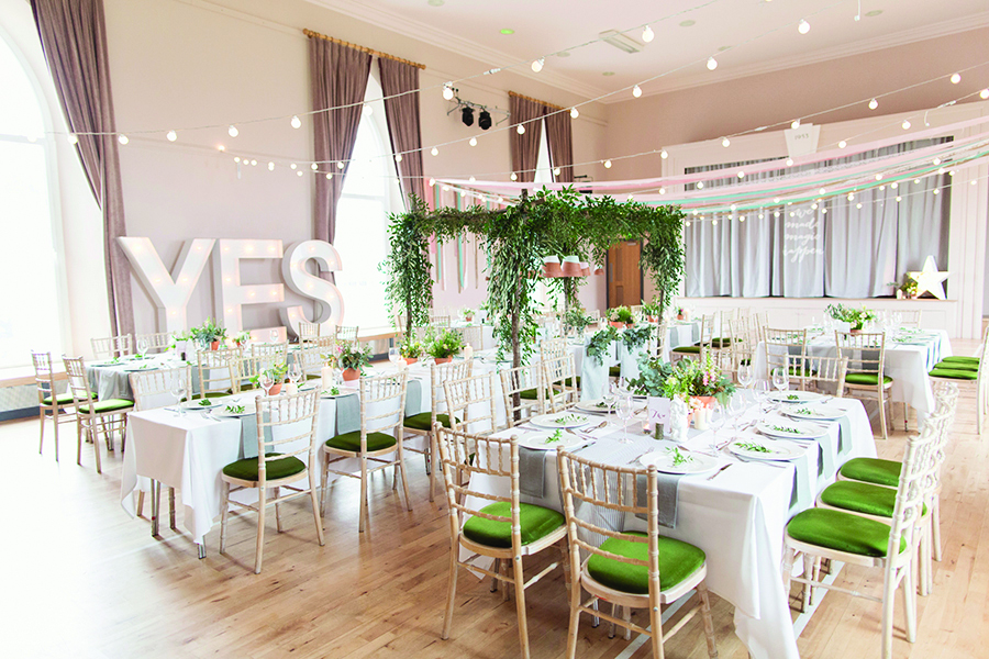 Featured Image for Michelle's Bride Diary: Our wedding venue has everything we want!