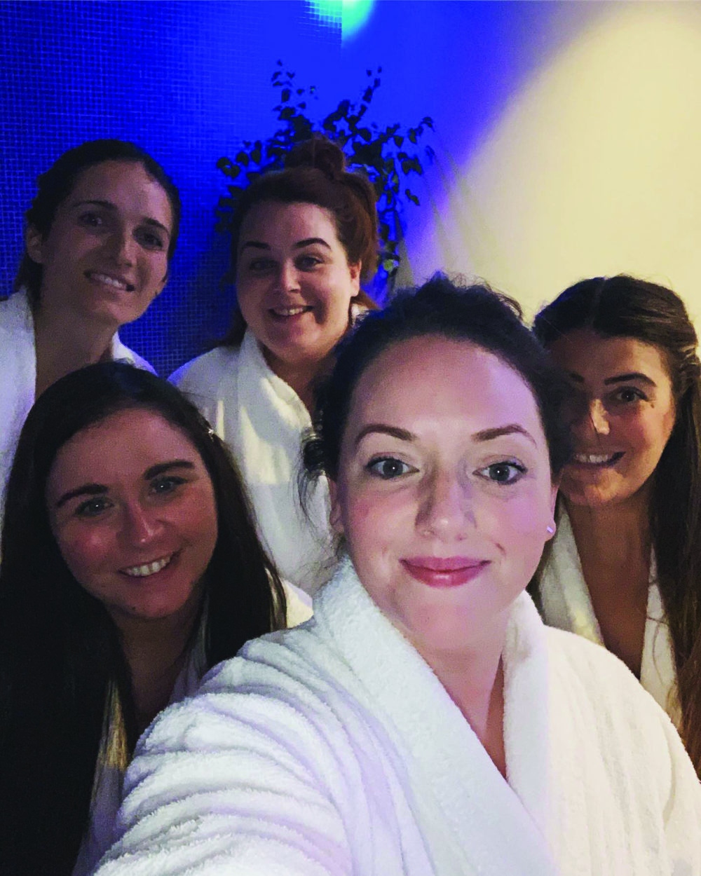 Steph and bridesmaids Pure Spa