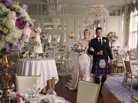 Featured Image for 9 of the most glamorous luxury wedding venues in Scotland