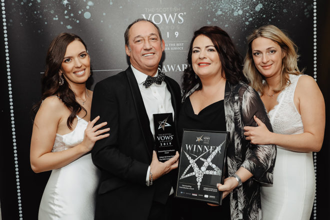 Featured Image for The Scottish VOWS Awards 2019: Meet the winners!