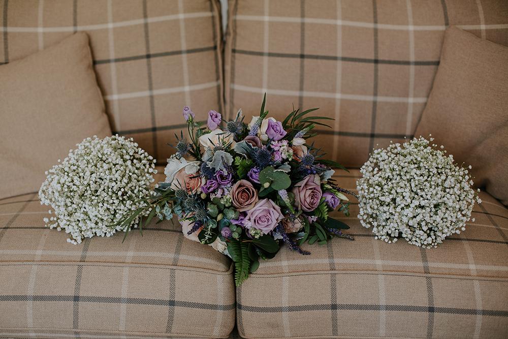 flowers - Francis J Smith Bachilton Barn wedding