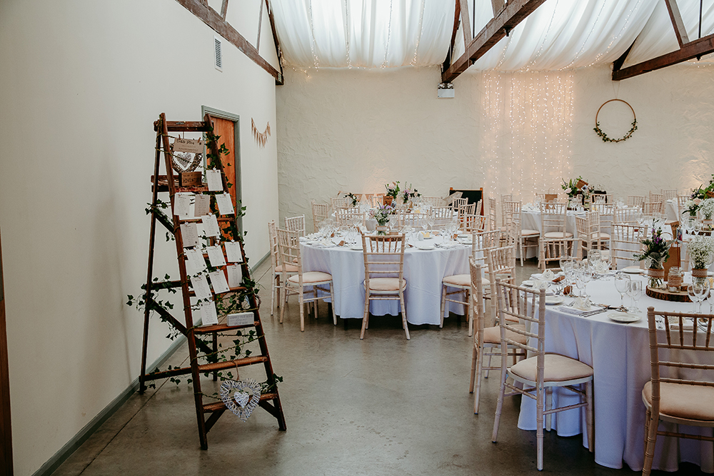 decor detail - Francis J Smith Bachilton Barn wedding