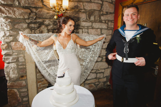Featured Image for Nautical inspired wedding at The Caves, Edinburgh